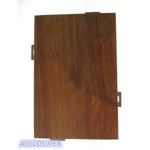Superficie de revestimiento de madera