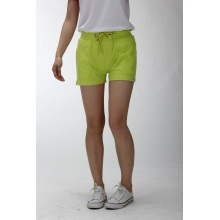 Custom green soft shorts