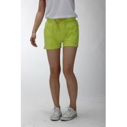 Custom green soft shorts