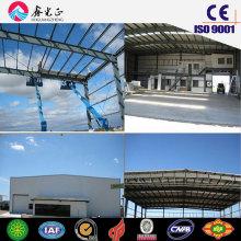 Hangar à structure en acier / hangar préfabriqué (JW-16299)