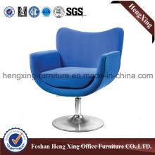 Blue Fabric Swivel Bar Stool Bar Chair (HX-BC011)
