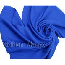 Твердый цвет Twill лицо 100% шелковой шерстяной шарф