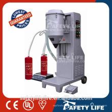extintor de incêndio co2 máquina de enchimento / extintor de incêndio máquina de enchimento / dióxido de carbono máquina de enchimento de extintor de incêndio