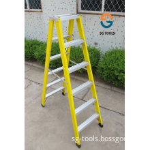 Two Side Insulation Step Ladder for Wiremen Use (SG-LF102)