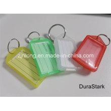 Tarjeta de signo B & etiquetas clave y etiqueta y llavero de plástico y accesorios (DR-Z0162)