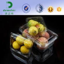Großhandel billig Blister Verpackung klar Kunststoff Container Clamshell für frisches Obst