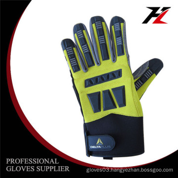 High quality long serve life mechanic car repairing gloves