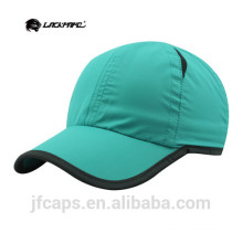 blue piping baseball and golf hats and caps