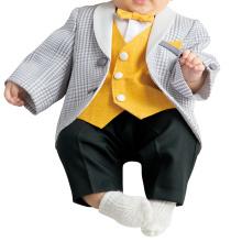 Jaqueta fácil com roupa íntima preta vestido de bebê