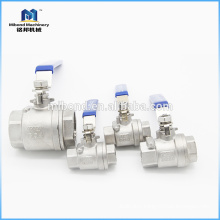 2-PC Sanitary Food grade Stainless Steel ball valve