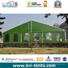 Tente militaire de haute qualité avec portée claire pour la tente de réfugiés