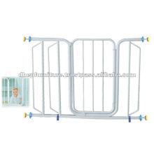 Portão de segurança do bebê de metal