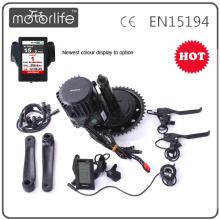 MOTORLIFE VERSORGUNG 48V 1000W Bafang bbs03 Kit, Bafang 1000 Watt Mittelantrieb