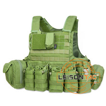Bulletproof Vest with Quick Release System