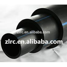 Tubería de polietileno de tubo de HDPE PE100 PN10 PN 16 Tuberías de plástico de agua de HDPE negro precio