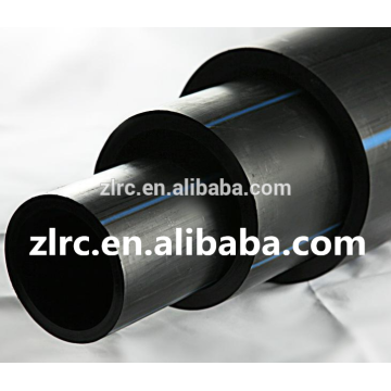 PE100 HDPE pipe polyethylene pipe PN10 PN 16 black HDPE water plastic pipes price