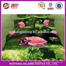 impression de pigment 100% polyester tissu pour drap de lit fait