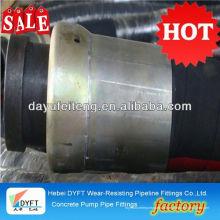 tuyau double couche DN100 * 8.5M chinois en acier industriel fil renforcé pompe à béton et fouet