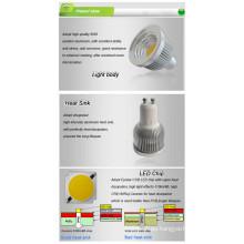 Bombilla LED COB MR16 LED Spot Light
