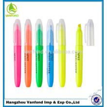 nuevo lápiz de resaltador promocional de varios colores Venta caliente