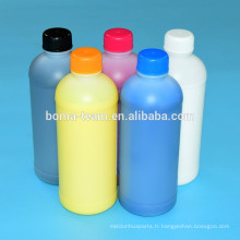 Encre textile pour epson stylus pro 3800 3880 pour epson dx7 numérique encre d'impression couleur blanche meilleurs produits