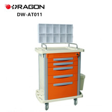 General Hospital Emergency Cart Medication CE Approved Medical Trolley Manufacturers