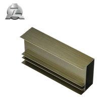 Pièces de cadres de fenêtre coulissantes en aluminium avec revêtement en poudre