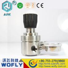 Régulateur de pression de compresseur d'air régulateur d'argon avec débitmètre