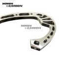 Custom made aluminum cnc turning parts motorcycle parts