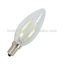 3w flicker flame E14 led bombilla de filamento