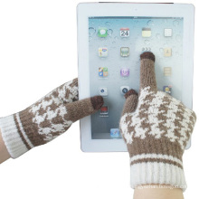 Damenmode Wolle gestrickte Touch Screen Winter Magic Handschuhe (YKY5454)