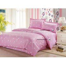 100% cotton warm and sweet quilt cover set