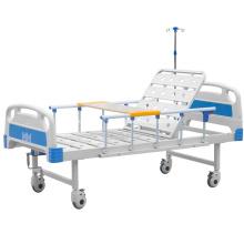 Lit simple d'hôpital d'ABS se pliant pour l'usage patient