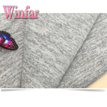 Brushed Rayon Polyester Spandex Sweater Knit Fabric Hacci