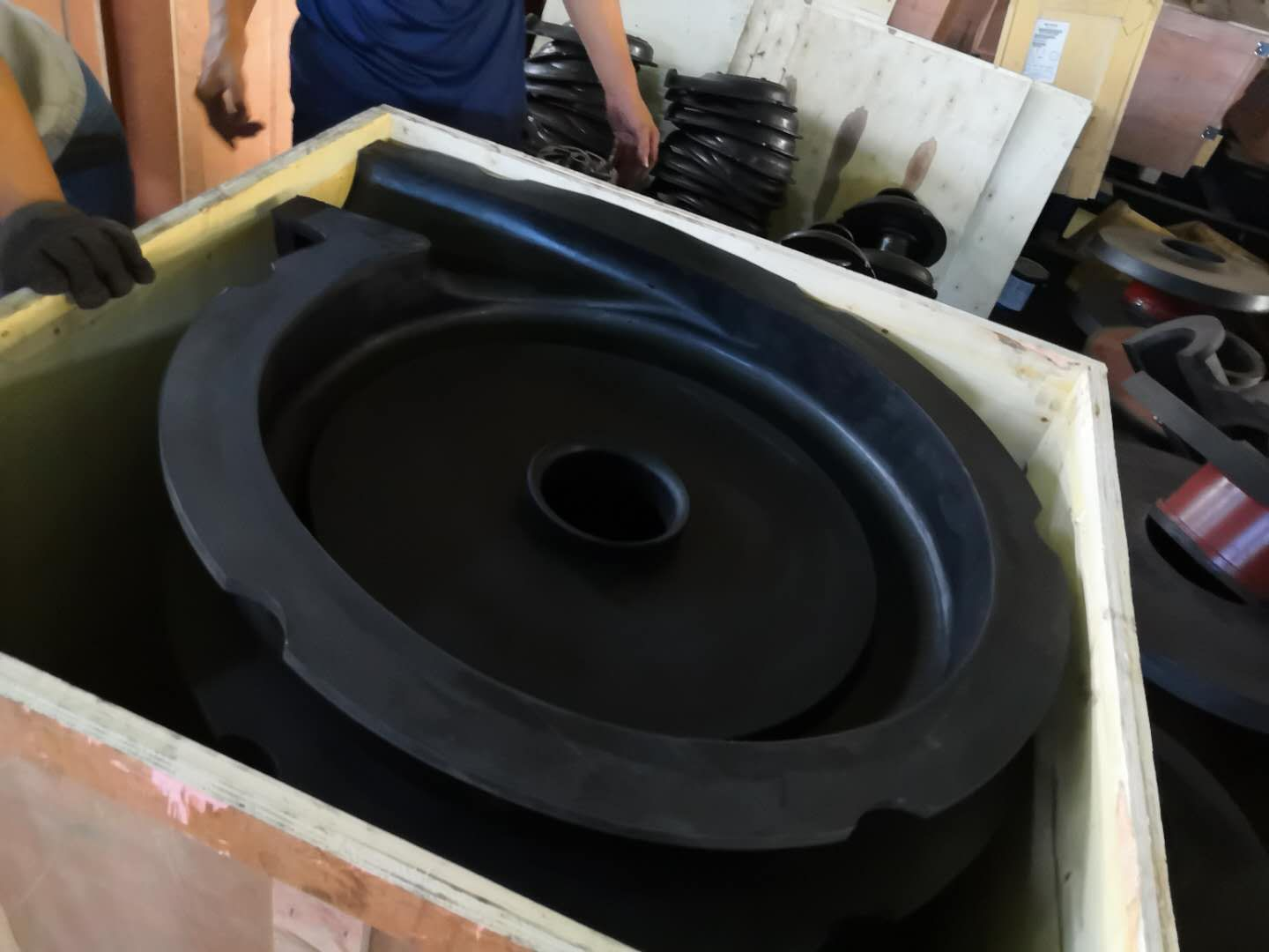 SH-150E Rubber Liners (3)
