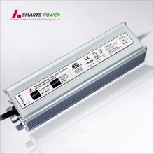 El transformador llevado 220v ac a 24v dc 3a llevó la fuente de alimentación impermeable ul enumerada