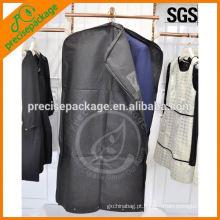 Saco de vestuário não tecido de alta qualidade com zíper lateral for sale