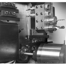 Centro de giro do mini CNC BS205 para o processamento de bronze