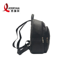Low MOQ Stylish Ladies Leather Backpack