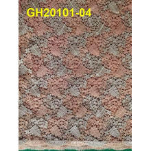 2015 Latest Design African Cord Lace/Guipure Lace Fabric for Women Dress