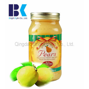 The Most Popular Glass Bottles of Canned Pears