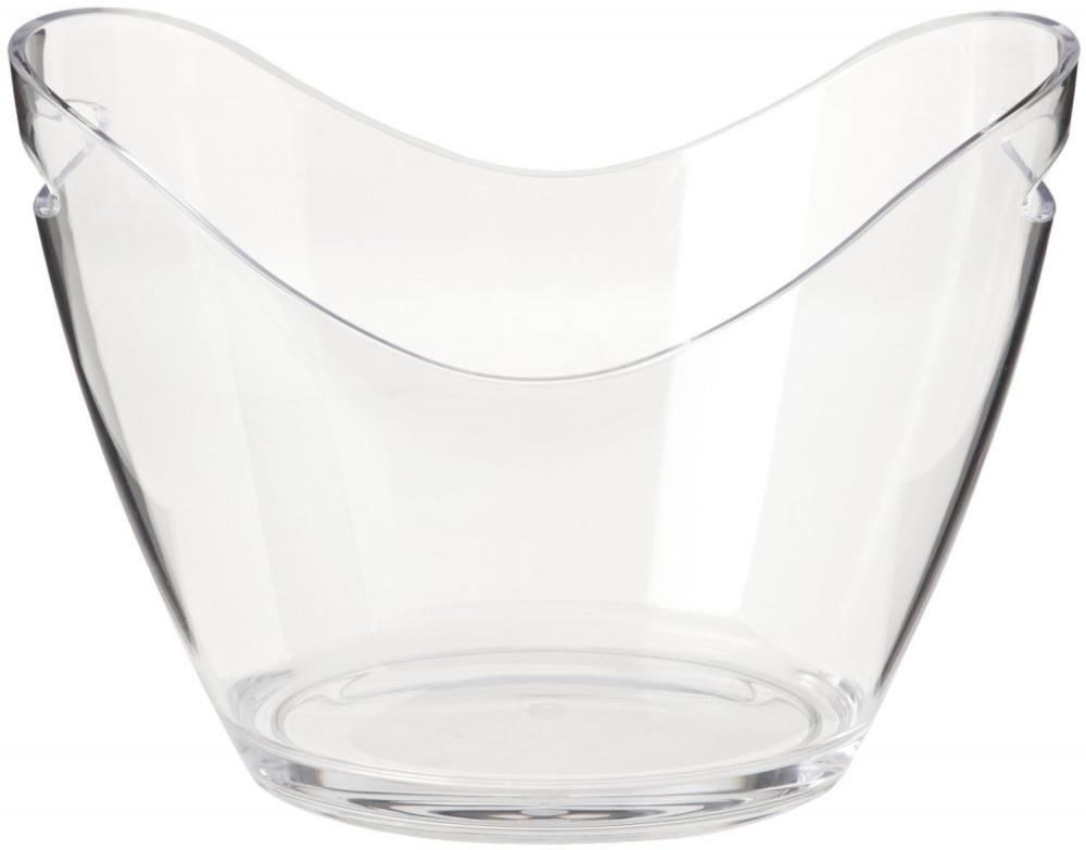 Plastic Ice Bucket or Ice Pack Clear