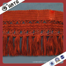 Garment Fringe , Curtain Trim , Fringe Trim Polypropylene Yarn