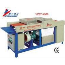 vidro pequena máquina de lavar YZZT-X500 trabalho de alta eficiência