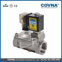 Válvula de solenoide del manguito de agua de latón válvula de compresor de aire
