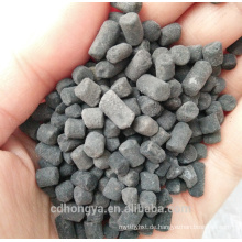 Natriumhydroxid Naoh Imprägnierte Kohle Pellet Aktivkohle Für H2S Entfernung