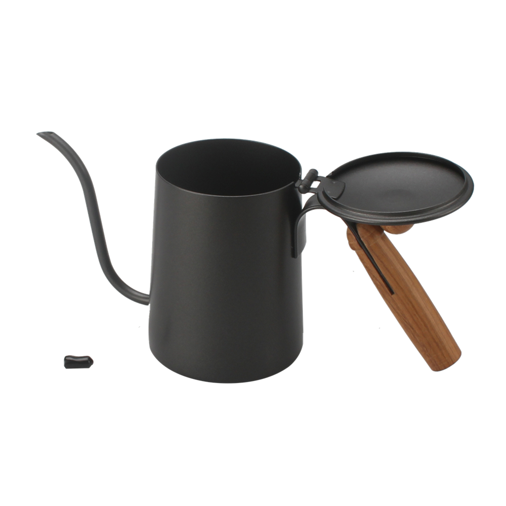 Wooden Knob Pour Over Coffee Kettle