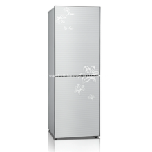 188L DC Household Double Door Solar Refrigerator