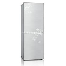Réfrigérateur solaire domestique à double porte 188L DC