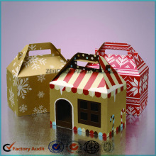 House Shaped Cake Packing Boxes With Handle